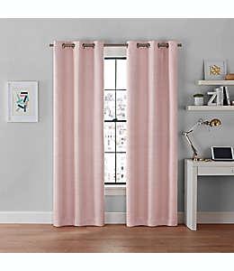 Cortinas blackout Brookstone® Galaxy de 2.13 m color rosa