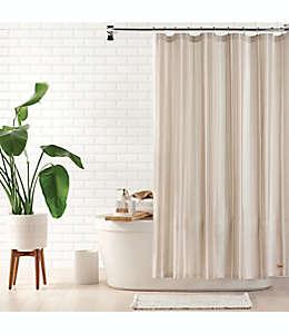 Cortina de baño estándar UGG Valerie color lino nieve