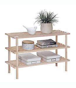 Organizador de madera Simply Essential™ color natural