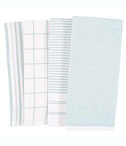 Toallas de cocina de algodón Our Table™ color azul niebla