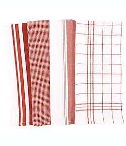 Toallas de cocina de algodón multiusos Our Table™ color madera