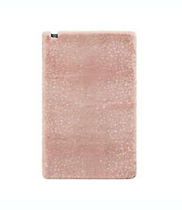 Tapete decorativo de poliéster UGG® Elsie color rosa cuarzo
