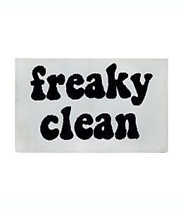 Tapete para baño de algodón Wild Sage™ Freaky Clean