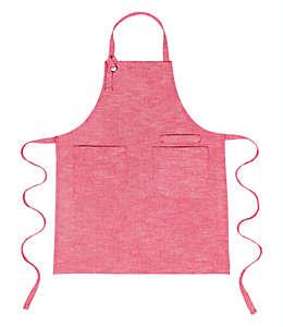 Delantal de algodón Our Table™ Select color rojo