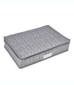 Protector acolchado para cubiertos Our Table™ color gris