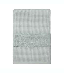 Toalla de baño de algodón orgánico Haven™ Waffle & Terry color gris cielo