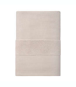 Toalla de baño de algodón orgánico Haven™ Waffle & Terry color piedra pómez