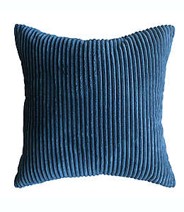 Cojín de poliéster Simply Essential™ Corduroy color azul marino