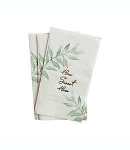 Toallas desechables de papel Home Sweet Home