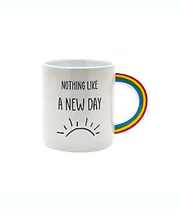 """Taza de cerámica Wild Sage™ con frase """"Nothing Like a New Day"""", 591.47 mL"""