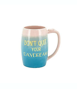 """Taza de cerámica Wild Sage™ con frase """"Don´t Quit Your Daydreams"""", 561.89 mL"""