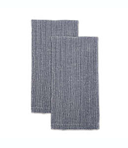 Servilletas de algodón Our Table™ color azul marino, Set de 2 piezas