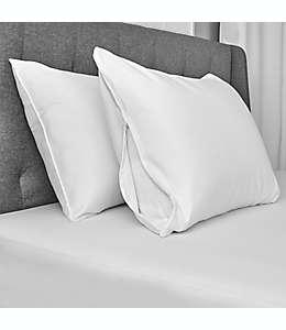 Fundas protectoras de microfibra para almohadas estándar/queen Simply Essential™