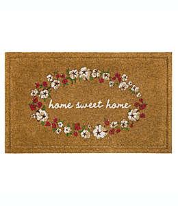 """Tapete para entrada Bee & Willow™ de 45.72 x 76.2 cm con frase """"Home Sweet Home"""""""