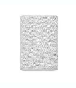 Toalla de medio baño de algodón  Haven™ Heathered Pebble color gris niebla