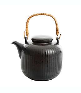 Tetera de cerámica Our Table™ Landon color pimienta