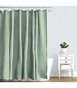 Cortina de baño de algodón Haven™ de 1.82 x 1.82 m color verde jadeíta