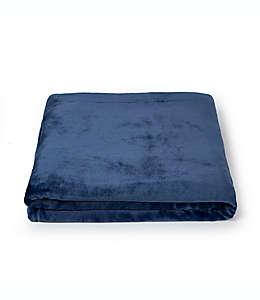 Frazada de poliéster Simply Essential™ Plush Solid color azul marino
