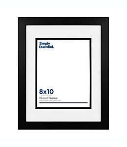 Portarretratos de madera Simply Essential™ con marialuisa de 32.38 x 40 cm color negro