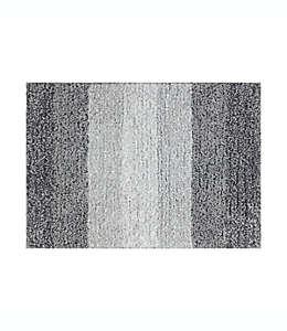 Tapete para baño de poliéster Simply Essential™ de 43.18 x 60.96 cm color gris