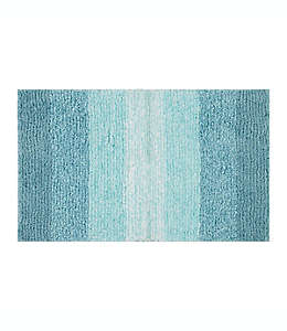 Tapete para baño de poliéster Simply Essential™ de 50.8 x 83.82 cm color aqua