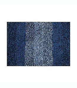 Tapete para baño de poliéster Simply Essential™ de 43.18 x 60.96 cm color aqua