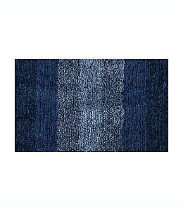 Tapete para baño de poliéster Simply Essential™ de 50.8 x 83.82 cm color azul marino