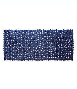 Tapete para baño de vinilo Simply Essential™ Rocks de 40.64 x 88.9 cm color azul