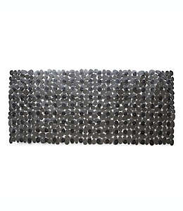 Tapete para baño de vinilo Simply Essential™ Rocks de 40.64 x 88.9 cm color gris