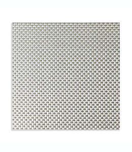 Manteles individuales de vinilo Studio 3B™ Bistro cuadrados color plata