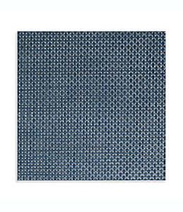 Manteles individuales de vinilo Studio 3B™ Bistro cuadrados color azul luxe