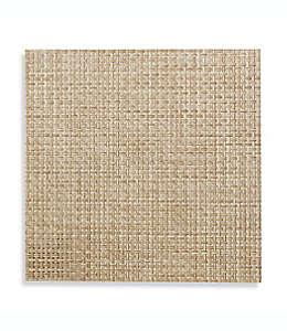 Manteles individuales de vinilo Studio 3B™ Bistro cuadrados color beige