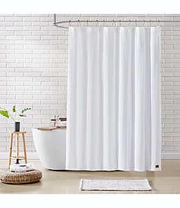 Cortina de baño de algodón UGG® Valerie de 1.82 x 1.82 m color blanco