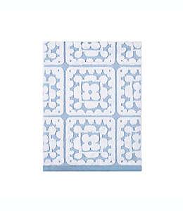 Toalla de medio baño de algodón con crochet Wild Sage™ color azul