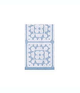 Toalla para manos de algodón con crochet Wild Sage™ color azul