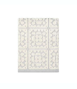 Toalla de medio baño de algodón con crochet Wild Sage™ color gris