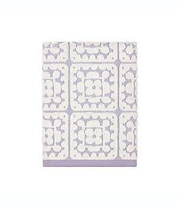 Toalla de medio baño de algodón con crochet Wild Sage™ color lavanda