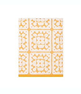 Toalla de medio baño de algodón con crochet Wild Sage™ color amarillo huevo