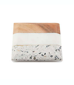 Portavasos de terrazzo y mármol Thirstystone®