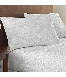 Set de sábanas king de algodón Studio 3B™ de 825 hilos con estampado color dorado