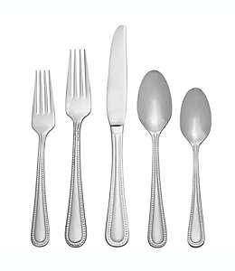 Set de cubiertos de acero inoxidable Our Table™ Carson, 45 piezas