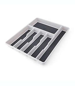 Organizador grande para cuchillos Simply Essential™ de poliestireno color gris