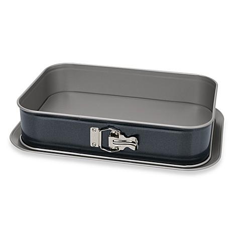 Rectangular Cake Pan With Removable Bottom