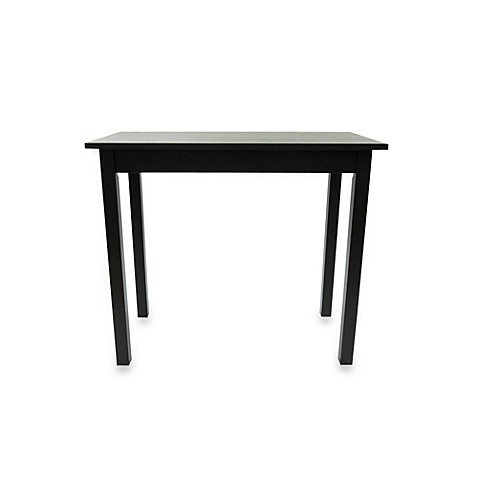 Carolina Chair & Table Company Pub Bar Table in Antique Black