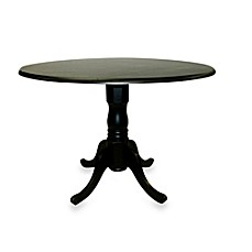 image of Carolina Chair & Table Company Provence Dining Table in Antique Black