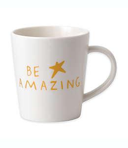"Taza con frase ""Be Amazing"" Royal Doulton ED en blanco/oro"