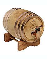 Barril de madera Polished con dispensador