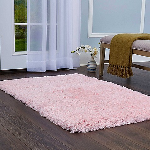 Home Dynamix Paramount 2-Foot 2-Inch x 3-Foot 8-Inch Decorative Shag Bedside Rug