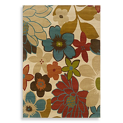 Oriental Weavers Emerson Area Rug In Multi Flower Town