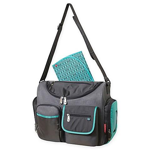 Fisher Price® Dakota FastFinder™ Duffel Diaper Bag in Aqua - Bed Bath & Beyond